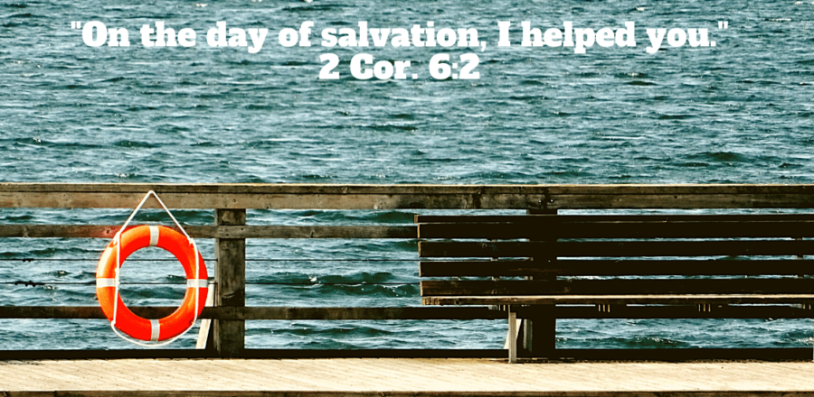 Thankful for Your Day of Salvation: Day 19