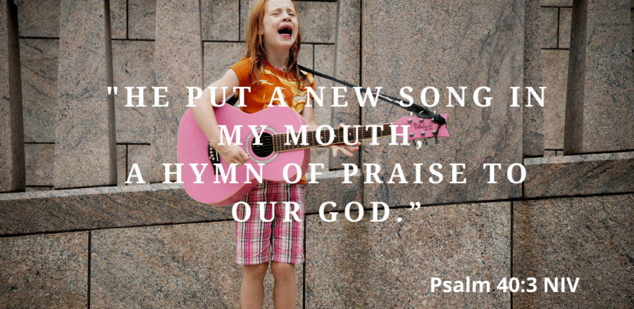 Singing Songs of Gratitude (7 Minute Prayers): Day 56